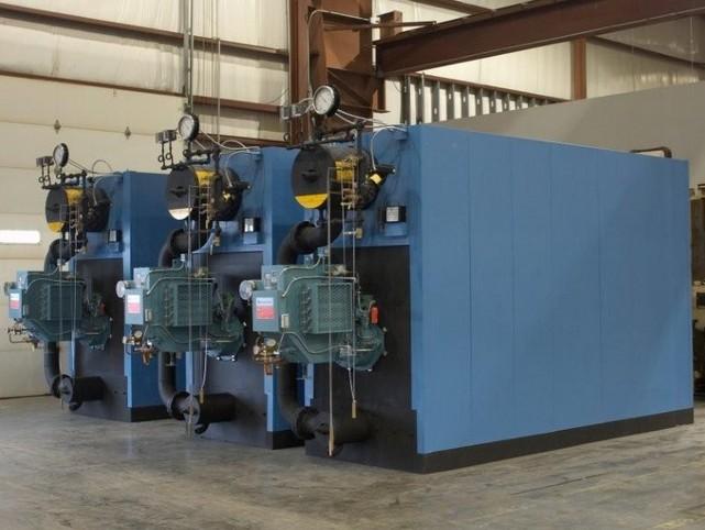 Three Unilux High Pressure Steam Boilers