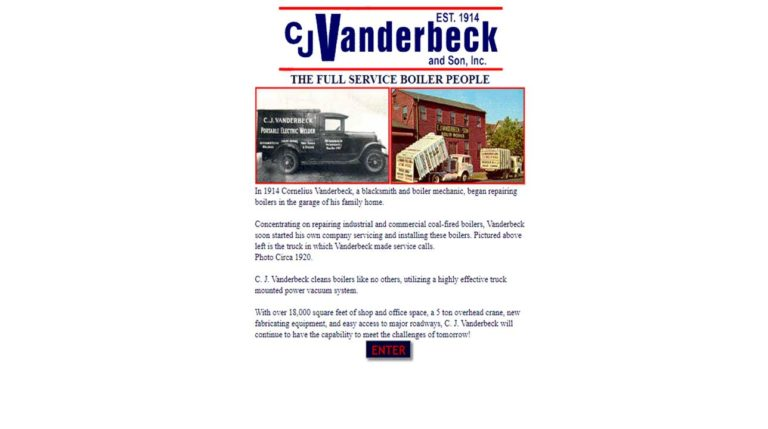C. J. Vanderbeck & Son, Inc.