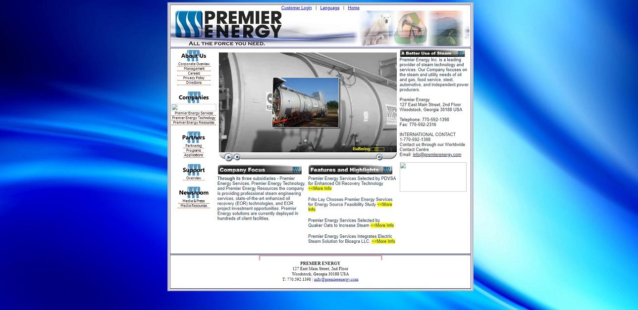 Premier Energy Services Inc